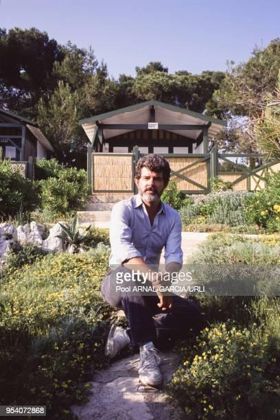George Lucas lors du Festival de Cannes en mai 1988 France