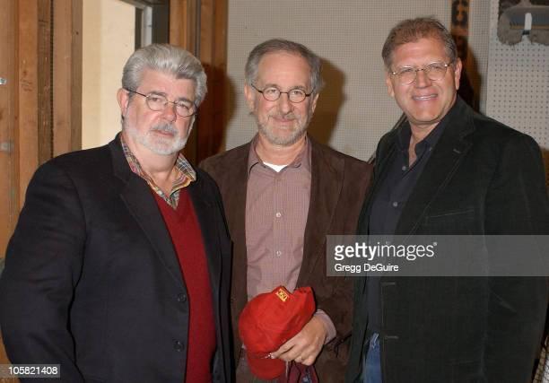George Lucas Steven Spielberg and Robert Zemeckis