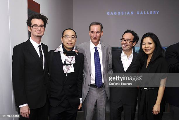 George Lugg Apichatpong Weerasethakul Mark Murphy Jose Kuri and Clara Kim attend 2011 REDCAT Gala Honoring Eli Edythe Broad and Apichatpong...