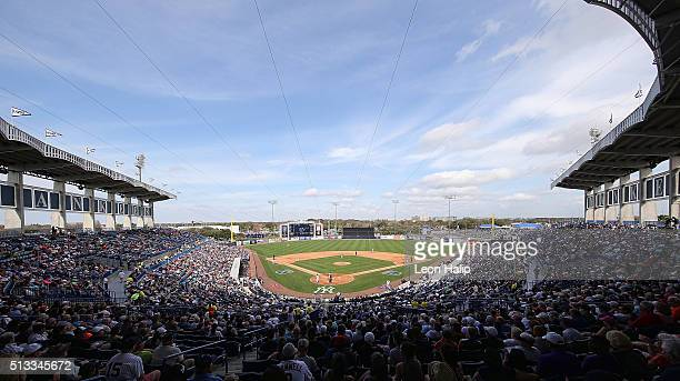 George M Steinbrenner Field during the game between the Detroit Tigers and the New York Yankees on March 2 2016 during the Spring Training Game at...