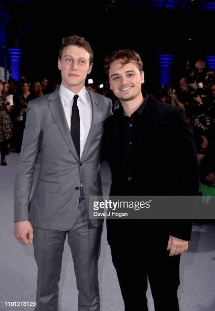 George MacKay and DeanCharles Chapman attend the British Independent Film Awards 2019 at Old Billingsgate on December 01 2019 in London England