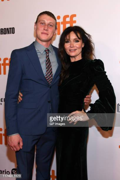 George MacKay and Essie Davis attend the True History Of Kelly Gang premiere during the 2019 Toronto International Film Festival at Roy Thomson Hall...