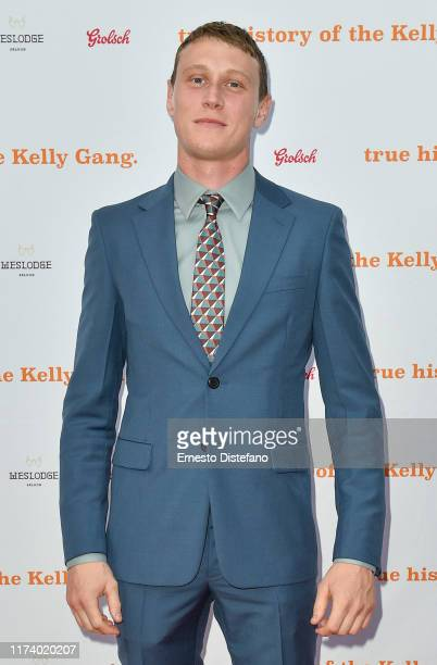 George MacKay arrives at The True History Of The Kelly Gang World Premiere Party Hosted By Grolsch at Weslodge during the Toronto International Film...