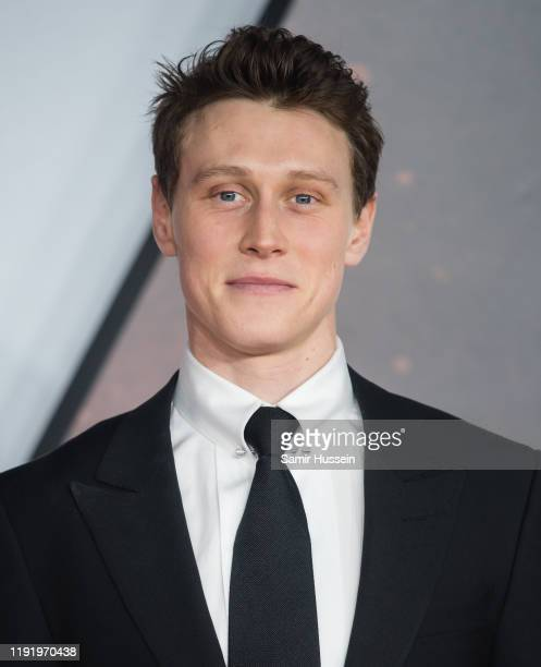 "George MacKay attends the ""1917"" World Premiere and Royal Performance at Odeon Luxe Leicester Square on December 04, 2019 in London, England."