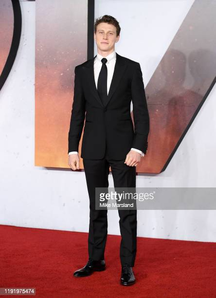 George MacKay attends the 1917 World Premiere and Royal Performance at Odeon Luxe Leicester Square on December 04 2019 in London England