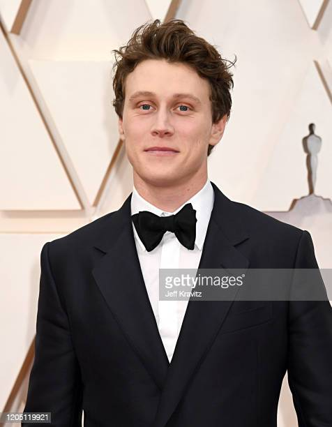 George MacKay attends the 92nd Annual Academy Awards at Hollywood and Highland on February 09 2020 in Hollywood California