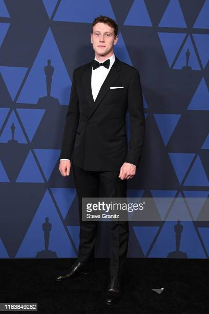 George MacKay attends the Academy Of Motion Picture Arts And Sciences' 11th Annual Governors Awards at The Ray Dolby Ballroom at Hollywood & Highland...