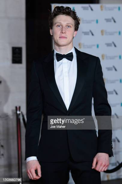 George MacKay attends the EE British Academy Film Awards 2020 After Party at The Grosvenor House Hotel on February 02, 2020 in London, England.
