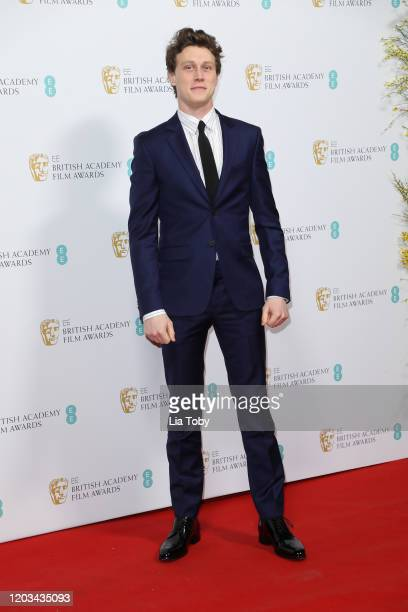 George MacKay attends the EE British Academy Film Awards 2020 Nominees' Party at Kensington Palace on February 01, 2020 in London, England.