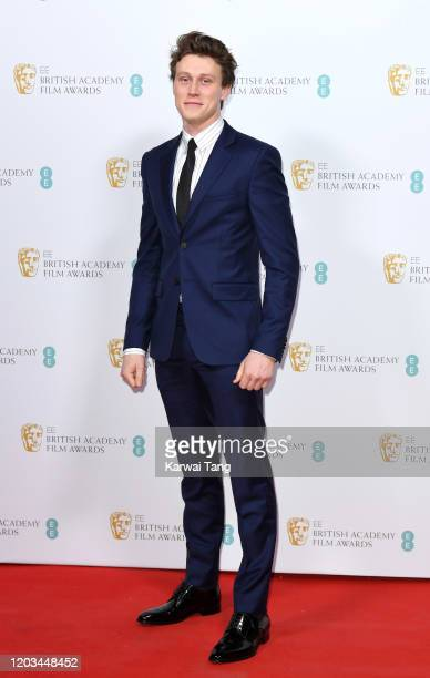 George MacKay attends the EE British Academy Film Awards 2020 Nominees' Party at Kensington Palace on February 01 2020 in London England