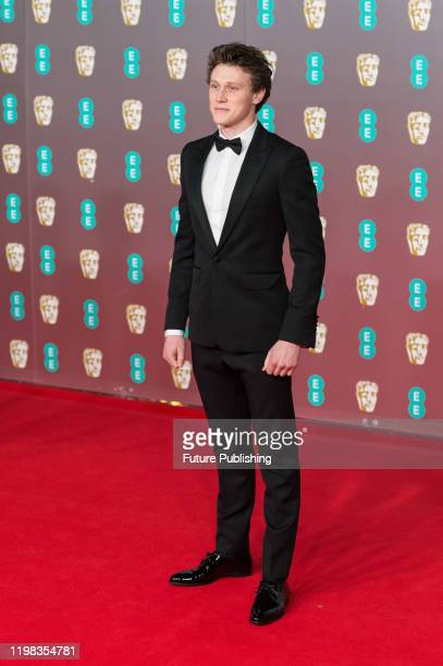 George MacKay attends the EE British Academy Film Awards ceremony at the Royal Albert Hall on 02 February 2020 in London England PHOTOGRAPH BY Wiktor...