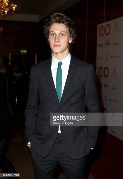 George MacKay attends the London Critics' Circle Film Awards at The Mayfair Hotel on February 2 2014 in London England