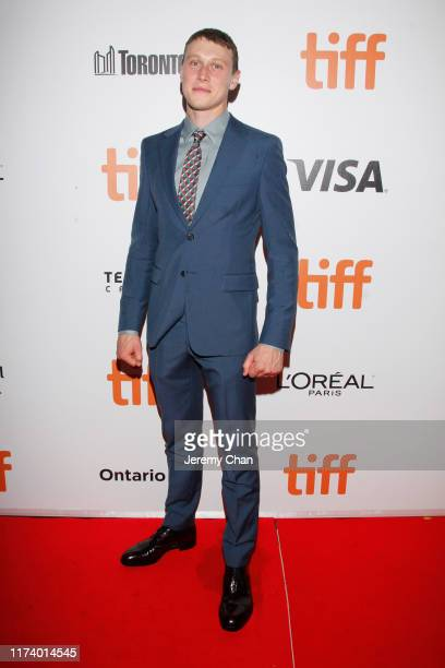 """George MacKay attends the True History Of Kelly Gang"""" premiere during the 2019 Toronto International Film Festival at Roy Thomson Hall on September..."""