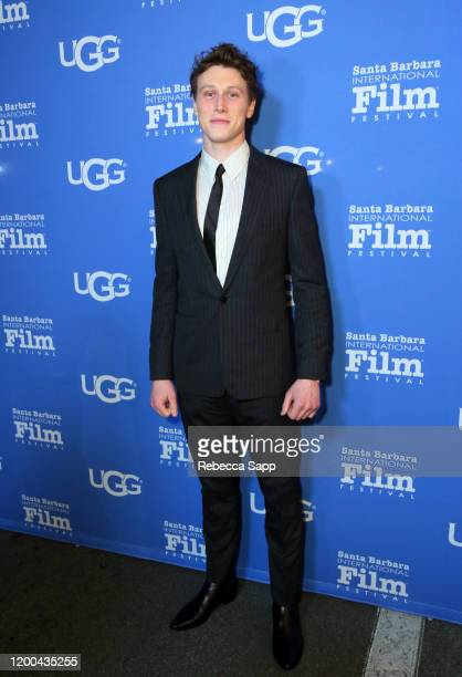 George MacKay attends the Virtuosos Award presentation during the 35th Santa Barbara International Film Festival at Arlington Theatre on January 18...