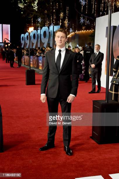 George MacKay attends the World Premiere and Royal Performance of 1917 at Odeon Luxe Leicester Square on December 4 2019 in London England