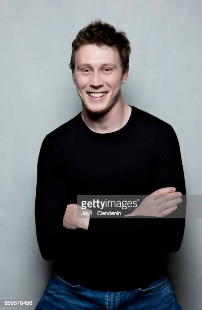 "George MacKay from the film ""Marrowbone,"" poses for a portrait at the 2017 Toronto International Film Festival for Los Angeles Times on September 12,..."
