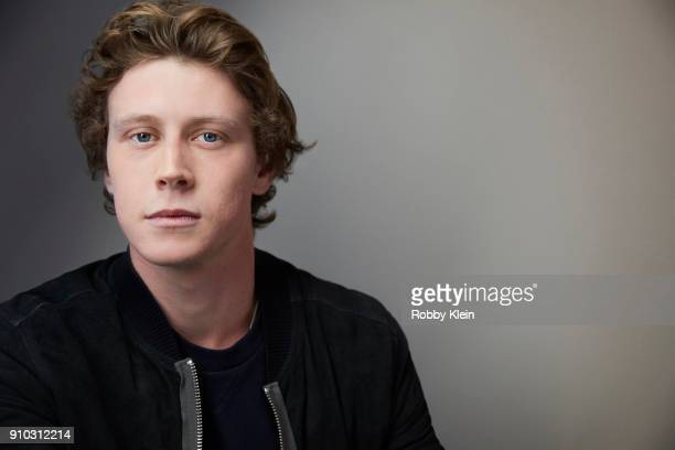 George MacKay from the film 'Ophelia' poses for a portrait in the YouTube x Getty Images Portrait Studio at 2018 Sundance Film Festival on January 22...