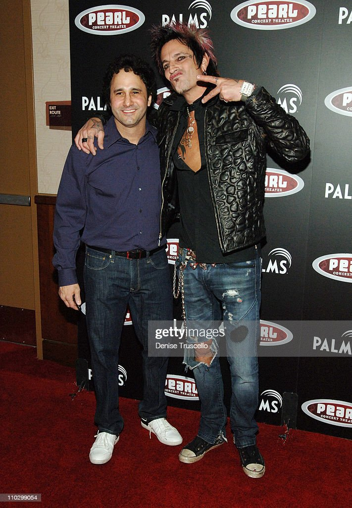 George Maloof and Tommy Lee during Grand Opening of The Pearl at The Palms with Gwen Stefani in Concert - Red Carpet Arrivals at The Pearl at The Palms in Las Vegas, Nevada.