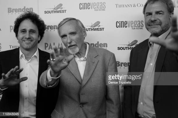 George Maloof Dennis Hopper and Danny Greenspun arrives at the 2009 CineVegas Film Festival Filmmaker and Honoree Awards at The Palms Casino Resort...