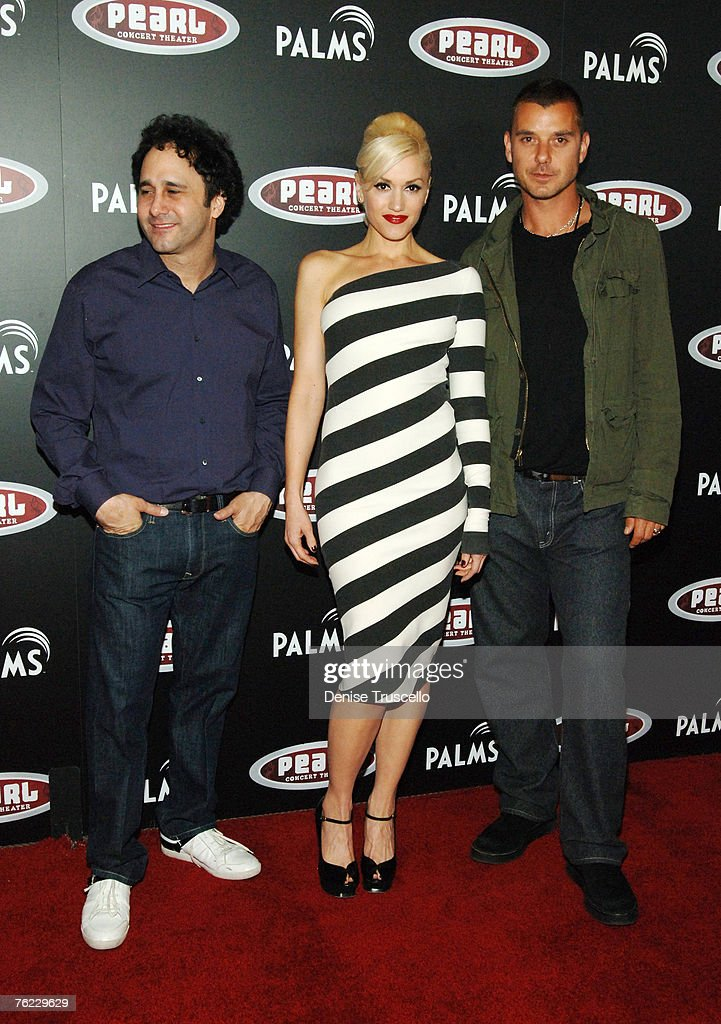 George Maloof, Gwen Stefani and Gavin Rossdale