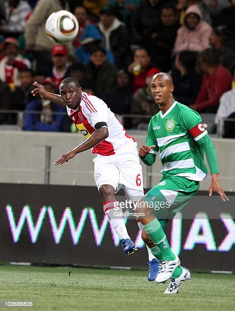 George Maluleka from Ajax CT during the Absa Premiership match between Ajax Cape Town and Blomfontein Celtic at Cape Town Stadium on August 27 2010...