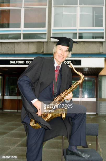 George Martin launching the world's first degree course in pop music Salford College of Technology George said 'This is something the world of pop...