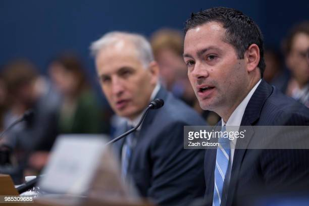 George Mason University Antonin Scalia Law School Visting Fellow Andy Keiser speaks during a House Small Business Committee hearing on President...