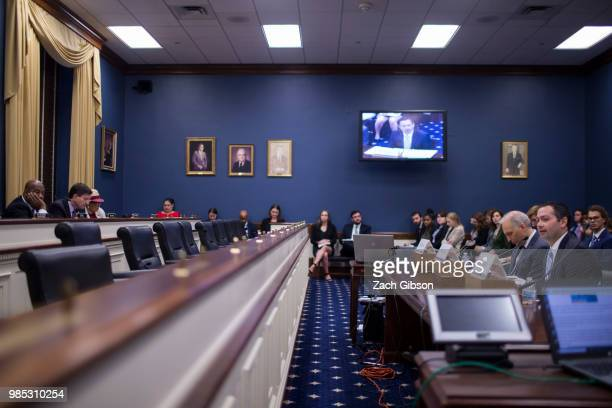 George Mason University Antonin Scalia Law School Visting Fellow Andy Keiser testifies during a House Small Business Committee hearing on President...