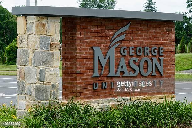 george mason university 팻말 - フェアファックス ストックフォトと画像