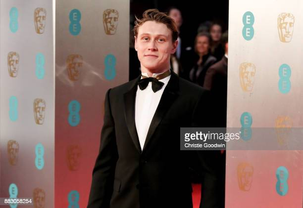 George McKay at the British Academy Film Awards 2017 at The Royal Albert Hall on February 12 2017 in London England