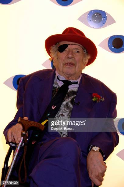 George Melly attends the press view of 'Surreal Things Surrealism And Design' at the Victoria Albert Museum on March 27 2007 in London England