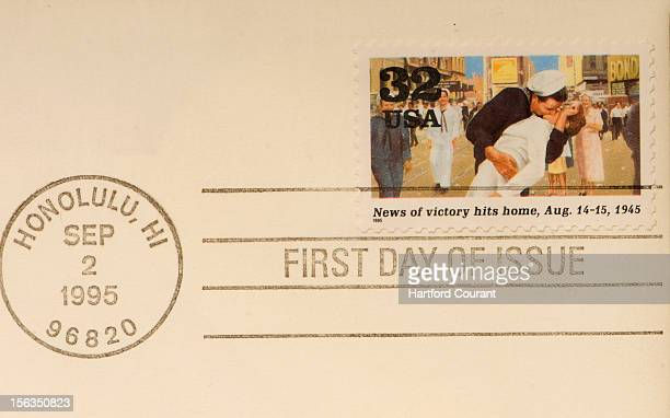George Mendonsa says he and Greta Friedman are two of only three people in history to have appeared on a US postage stamp while still alive