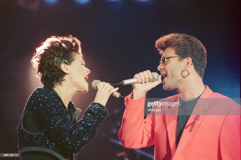george michael and lisa stansfield perform these are the days of our