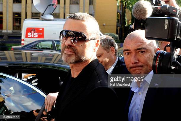 George Michael appears at Highbury Magistrates Court on August 24, 2010 in London, England.
