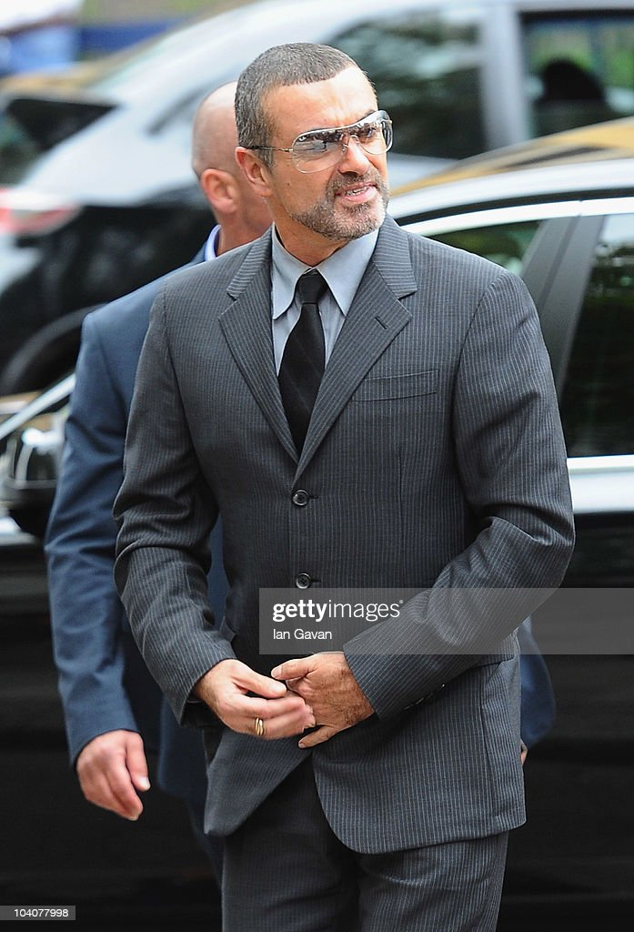 George Michael Appears At Court For Driving Offences  - Sentencing : News Photo