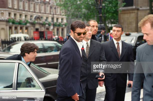 George Michael arriving at the High Court during his failed court battle to be released from his Sony record contract 21st June 1994