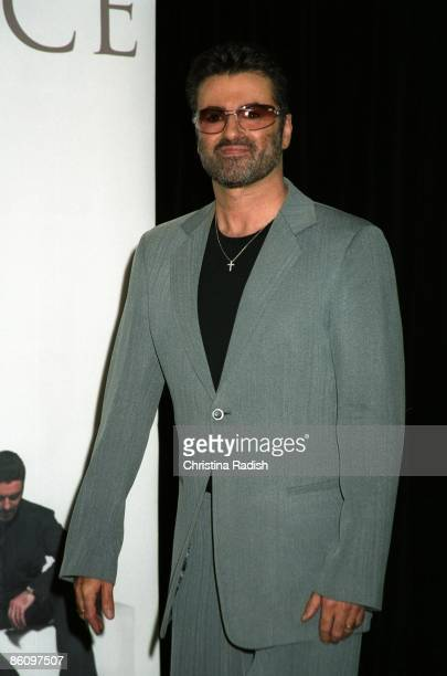 George Michael at an instore appearance for his latest release 'Patience' held at the Virgin Megastore in West Hollywood Calif on May 21 2004