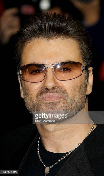 George Michael at the Curzon Mayfair in London United Kingdom