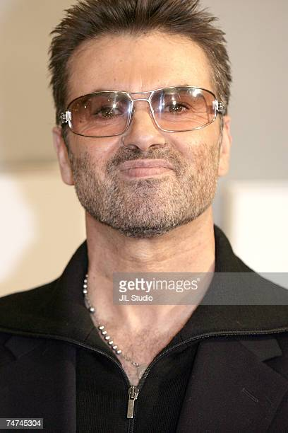 George Michael at the George Michael A Different Story'' Tokyo Premiere Arrivals at Bunkamura in Tokyo