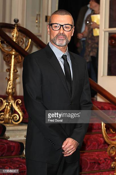 George Michael attends a press conference to announce his new European tour Symphonica The Orchestral Tour at The Royal Opera House on May 11 2011 in...