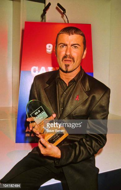 George Michael Capital Radio Awards 1996 At Royal Lancaster Hotel In London