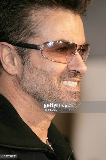 George Michael during George Michael A Different Story'' Tokyo Premiere Arrivals at Bunkamura in Tokyo Japan
