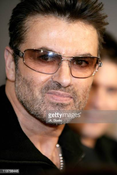 George Michael during 'George Michael A Different Story'' Tokyo Premiere Arrivals at Bunkamura in Tokyo Japan