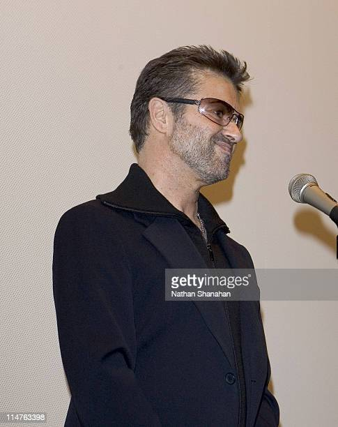George Michael during George Michael A Different Story'' Tokyo Premiere at Bunkamura in Tokyo Japan