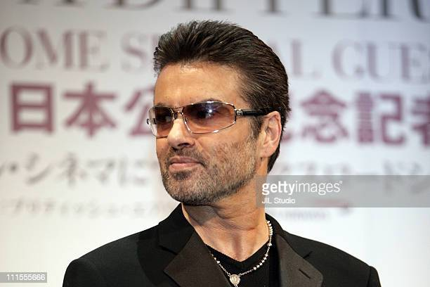 George Michael during George Michael A Different Story Tokyo Press Conference at Cerulean Tower Tokyu Hotel in Tokyo Tokyo Japan