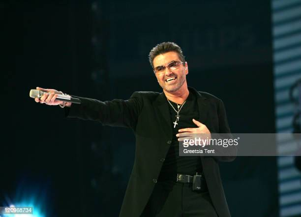 George Michael during George Michael In Concert At The Arena - Amsterdam - June 26th, 2007 at Arena in Amsterdam, Netherlands.