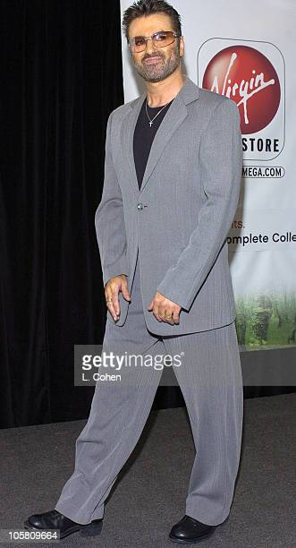 George Michael during George Michael InStore Appearance for New CD 'Patience' at Virgin Megastore in Los Angeles California United States