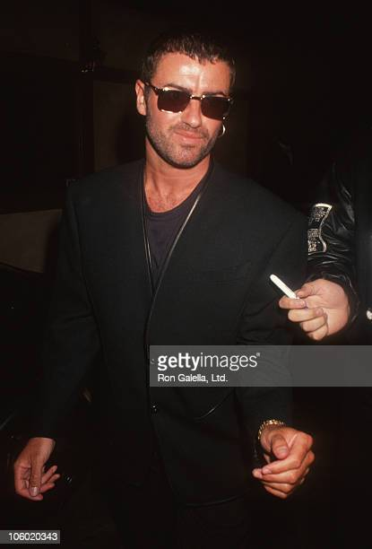 George Michael during George Michael Sighted at Roxbury Club in Hollywood - February 15, 1991 at Roxbury Club in Hollywood, California, United States.