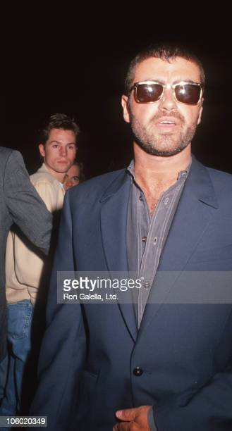 George Michael during George Michael Sighted at Roxbury Club In Hollywood - March 2, 1991 at Roxbury Club in Hollywood, California, United States.
