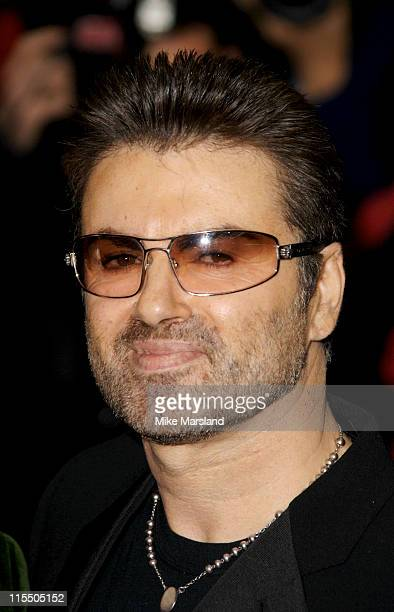 George Michael during George Michael's A Different Story Gala London Screening Outside Arrivals at Curzon Mayfair in London Great Britain